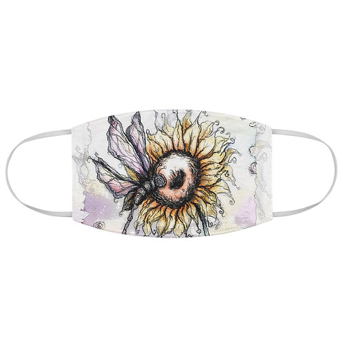 Everglow Sunflower & Dragonfly Mask