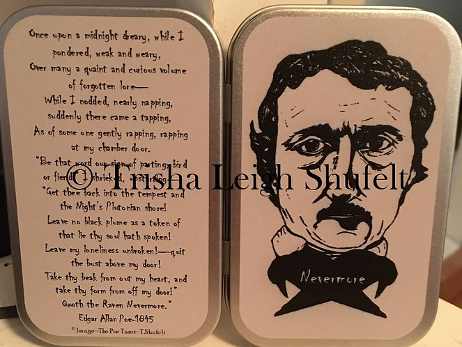 Edgar Allan Poe~The Raven Mint Tin