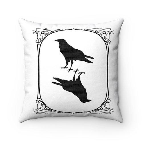 Poe Tarot Ravens Pillow