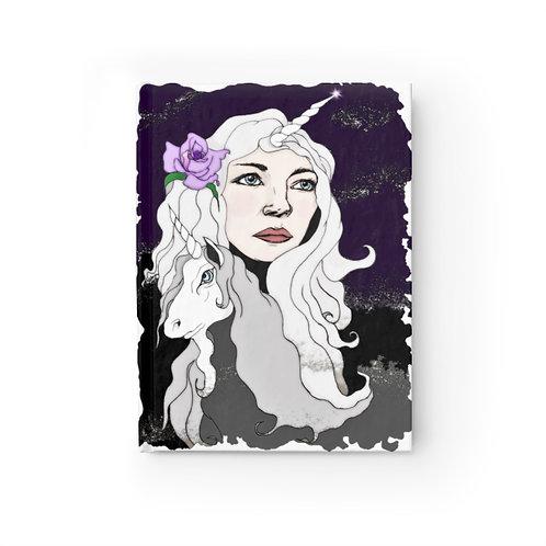 Unicorn Queen Journal - Blank