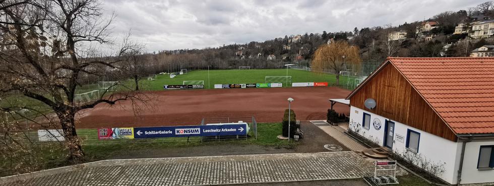 Sportplatz am Blauen Wunder