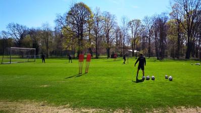 Trainingsplätze im Großen Garten