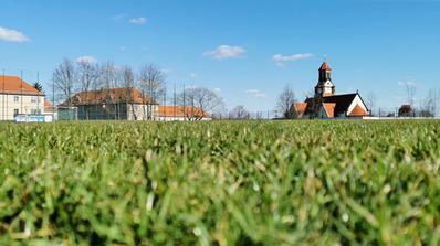 Sportplatz an der Leutewitzer Windmühle