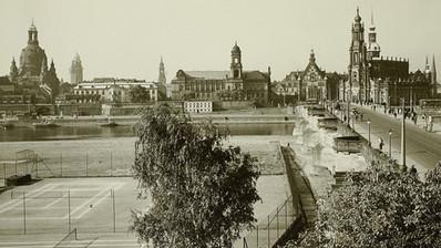 Sportanlage an der Augustusbrücke