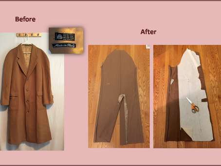 How to pick a garment to upcycle into a bag or purse, part 2