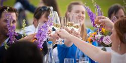 Wedding, Celebration, Champagne