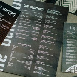 The Otheroom Menu