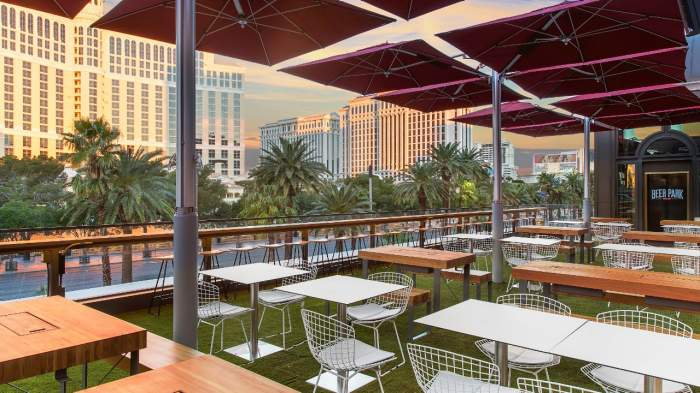 Beer Park, Las Vegas, Drinks, Food