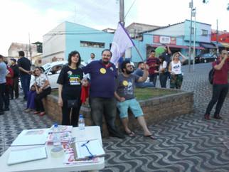 Manifestação Contra Reforma da Previdência em Atibaia