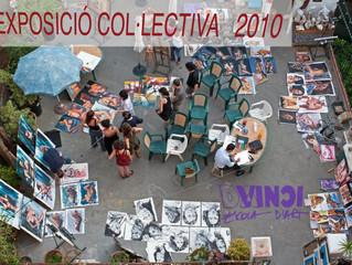 Exposición Colectiva en Davinci escola d'art. Barcelona.