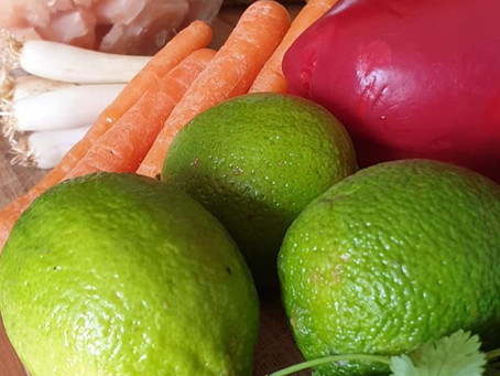 Refreshing Asian-inspired salad