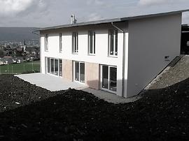 Photo de la villa individuelle de la famille Barré-Vogel à Courrendlin