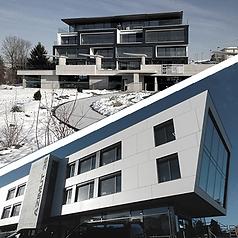 Partie supérieure : Photo de l'immeuble SIGMA Partie inférieure : Photo de l'immeuble AZIMUT 38