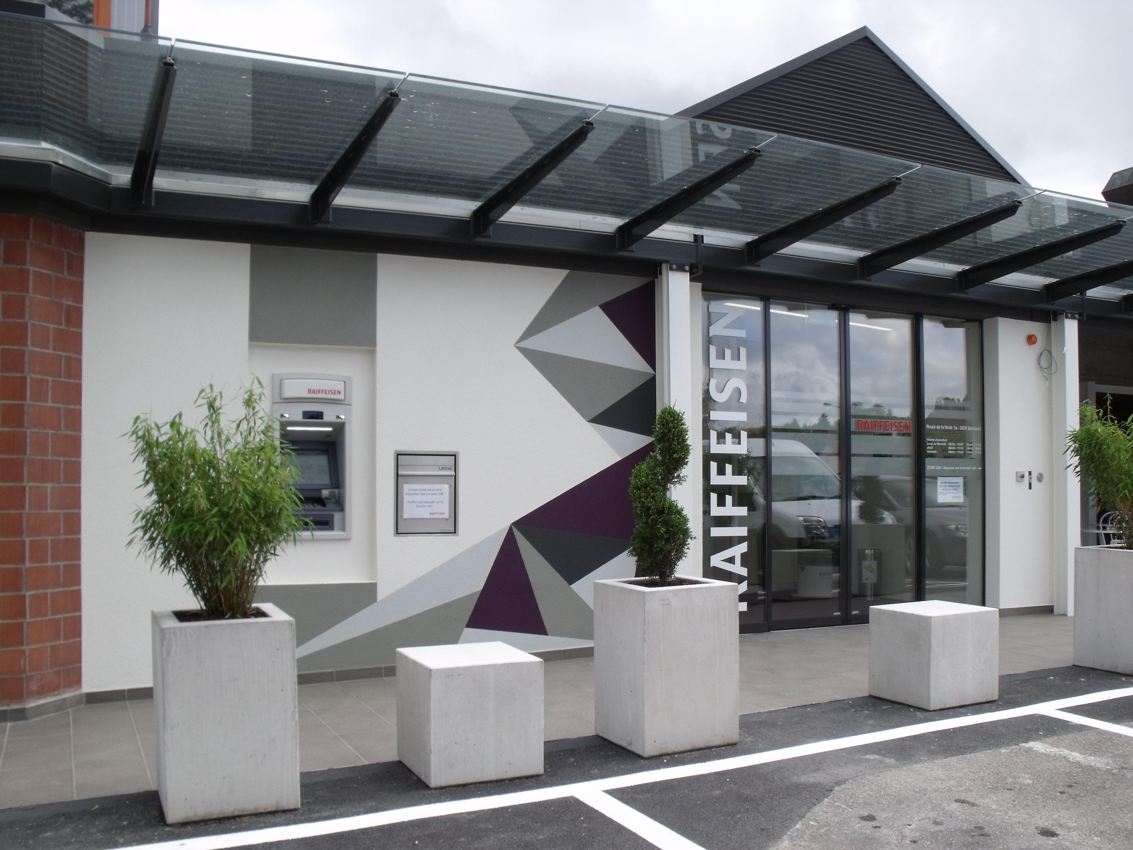 Banque Raiffeisen - Entrée