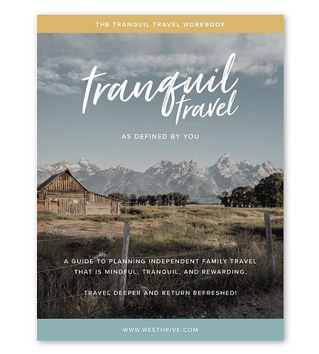 The Tranquil Travel Workbook