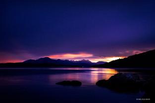 Scotland - Kyle sunset