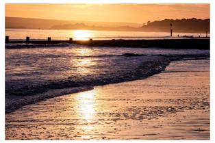 Sunset_bouremouth-beach Jan 2020