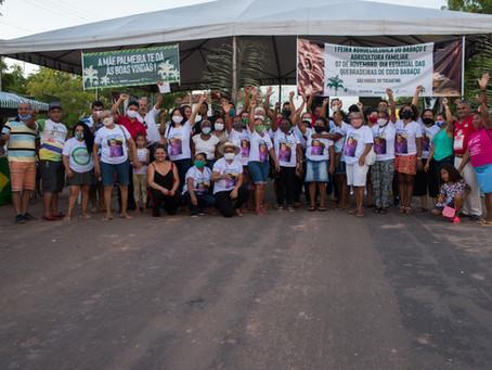Quebradeiras do Tocantins realizam a I Feira Agroecológica do Babaçu e da Agricultura Familiar