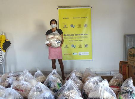 No Piauí, MIQCB entrega 1.500 cestas básicas com alimentos agroecológicos