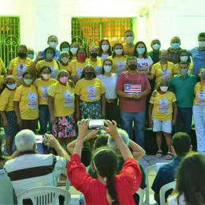 No Maranhão, o Dia da Quebradeira foi celebrado em frente ao Palácio dos Leões
