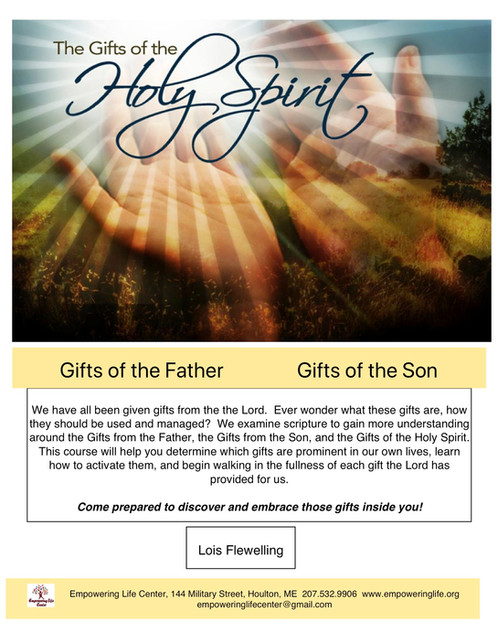 Gifts of the holy spirit 13 week course equipping training gifts of the holy spirit 13 week course equipping trainingempowering life centerhoulton maine negle Image collections