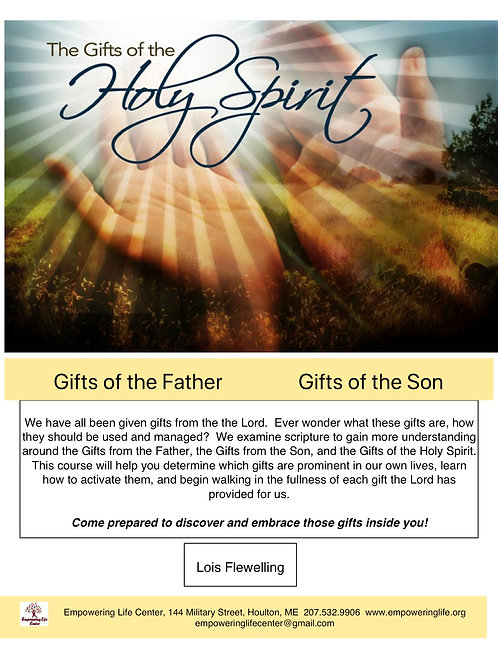Gifts of the Holy Spirit Workbook