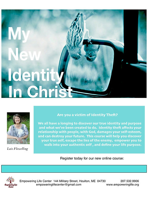 My New Identity in Christ Workbook