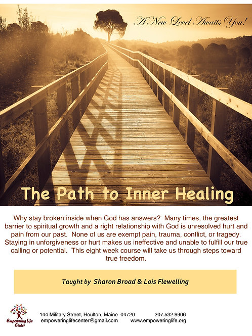 The Path to Inner Healing Workbook