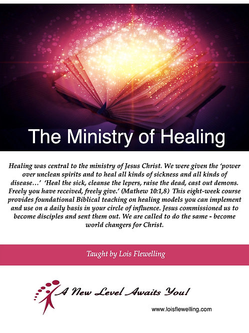 The Ministry of Healing Workbook