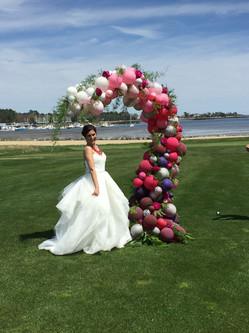 Trending Wedding Organic Balloon Arch