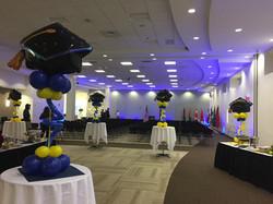 Graduation Balloon Centerpieces