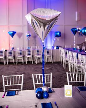 Mitzvah Balloon Centerpieces | Eye Candy Balloons