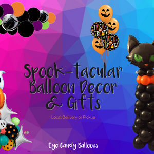Spook-tacular Balloon Decor is here!
