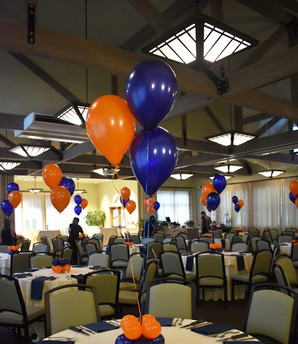 Mitzvah Balloon Bouquet and Balloon Centerpieces by Eye Candy Balloons