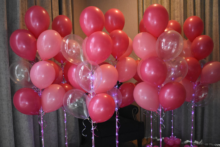Pink Birthday Balloon Bouquets at Eye Candy Balloons