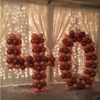 Large Balloon Numbers for Birthday Party Decorations at Eye Candy Balloons