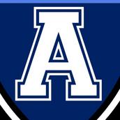 Atkinson Academy Logo Eye Candy Balloons