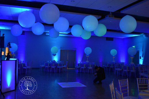 Mitzvah Dance Floor Balloons by Eye Candy Balloons