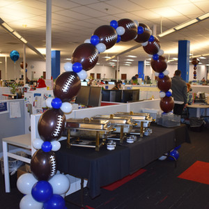 Football Party... at work!