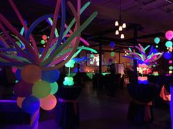 Blacklight Party Balloons