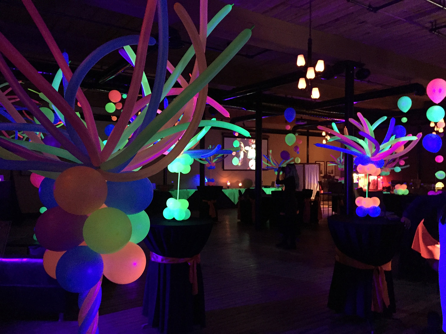 party decorations party balloons Eye Candy Balloons Manchester