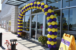 Planet Fitness Balloon Arch