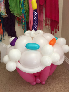 Birthday Party Balloon Cupcake New Hampshire