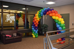 Corporate Balloon Arch Manchester NH