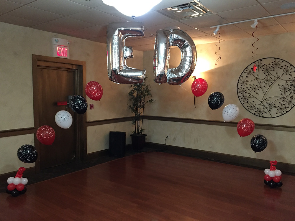 birthday balloons, party decorations, birthday party decorations
