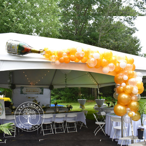 Champagne Balloon Celebration at Eye Candy Balloons