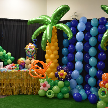 We've gone TROPICAL at the Tri-City Expo