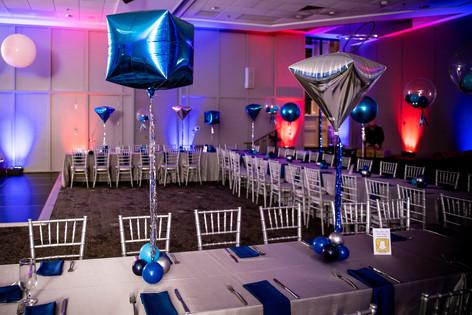 Mitzvah Balloon Centerpieces