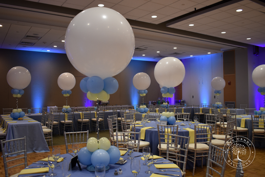Mitzvah Centerpieces Balloons