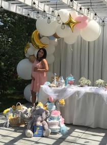 Trending Organic Balloon Design for Baby SHower